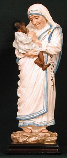 Mother Teresa Statue 12 Inch By Ado Santini