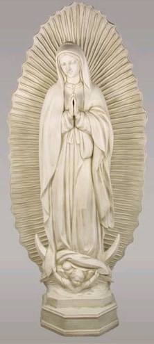 Captivating Gifts Jewelry Our Lady Of Guadalupe Garden Statue  U003e Source. Loading Zoom