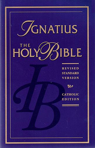 Ignatius Holy Bible Rsv Catholic Edition Blue Hardcover