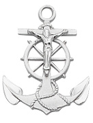 Anchor Crucifix Medals Necklaces Pendants