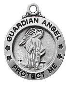 Guardian Angel Medals Pendants Necklaces