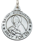 St. Augustine Medals Necklaces Pendants