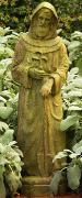 St. Fiacre Statues Patron Saint of Gardeners