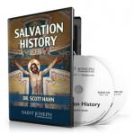 **** Discontinued **** Salvation History - 5 Audio CD Set With Study Guide - Dr Scott Hahn