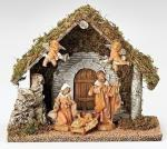 Fontanini Wedding Nativity Set - 5 Piece - 5 Inch Figure Scale - Polyme
