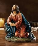 Jesus Agony In The Garden of Gethsemane Statue - 5.5 Inch High - Stone Resin