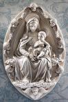 INRI Placard For Crucifix - 5 Inch H - Antique Stone Looking Fiberglass