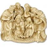 Nativity Set Scene - 10 Inch H - Gothic Stone Look - Fiberglass