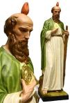 St. Jude Statue  - 55 Inch - Indoor Use Only - Made of Painted Fiberglass