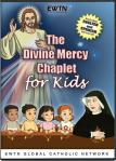 Divine Mercy Chaplet for Kids DVD - 15 min. - Animated -  Includes English & Spanish