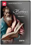 Matthew's Testimony To Jesus DVD Video Set - Volume 1 - Frances Hogan - As Seen On EWTN
