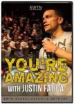 Youre Amazing DVD - Justin Fatica - 4 DVD Set / 5 Hrs. - As Seen On EWTN