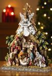 Nativity Scene - 10.5 Inch - Made of Stoneresin
