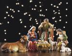 Nativity Set - 6 Piece -  5 Inch - Stone Resin - From Avalon Gallery