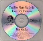 Tim Staples Conversion Story Audio CD