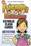 Friendly Defenders Catholic Flash Cards (50 Pack)