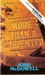 More Than A Carpenter - Softcover Book - Josh McDowell