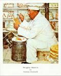 Weighty Matters Art Poster Print by Norman Rockwell