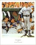 The Dugout Art Poster Print by Norman Rockwell