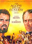 Agony and the Ecstasy DVD Video - Starring Charlton Heston