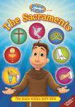 Brother Francis The Sacraments DVD Video - 25 min. - Animated Video Series