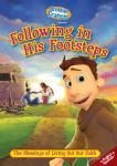 Brother Francis Following In His Footsteps DVD Video - 25 min. - Animated Video Series