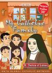 St. Therese of Lisieux DVD - My Catholic Family EWTN DVD Animated Video Series - 30 min.