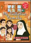St. Rita of Cascia DVD - My Catholic Family EWTN DVD Animated Video Series - 30 min.