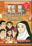 St. Margaret Mary DVD - My Catholic Family EWTN DVD Animated Video Series - 30 min.
