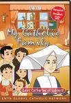 St. Catherine Laboure DVD - My Catholic Family EWTN DVD Animated Video Series - 30 min.
