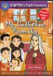 St. Monica DVD - My Catholic Family EWTN DVD Animated Video Series - 30 min.