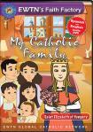 St. Elizabeth of Hungary DVD - My Catholic Family EWTN DVD Animated Video Series - 30 min.