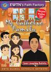 St. Josephine Bakhita DVD - My Catholic Family EWTN DVD Animated Video Series - 30 min.