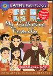 St. Martin de Porres DVD - My Catholic Family EWTN DVD Animated Video Series - 30 min.