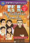 St. Francis of Assisi DVD - My Catholic Family EWTN DVD Animated Video Series - 30 min.