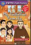 St. Francis of Assisi DVD - My Catholic Family EWTN DVD Animated Video Series - 30 min.