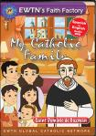 St. Dominic de Guzman DVD - My Catholic Family EWTN DVD Animated Video Series - 30 min.