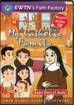 St. Clare of Assisi DVD - My Catholic Family EWTN DVD Animated Video Series - 30 min.