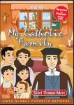 St. Thomas More DVD - My Catholic Family EWTN DVD Animated Video Series - 30 min.