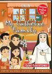 St. Rose of Lima DVD - My Catholic Family EWTN DVD Animated Video Series - 30 min.