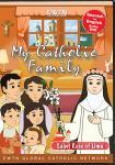 St. Rose of Lima DVD - My Catholic Family EWTN DVD Animated Video Series - 30 min.