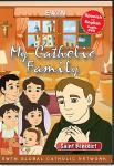 St. Benedict DVD - My Catholic Family EWTN DVD Animated Video Series - 30 min.