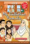 St. Catherine of Sienna DVD - My Catholic Family EWTN DVD Animated Video Series - 30 min.