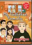 St. Anthony of Padua DVD - My Catholic Family EWTN DVD Animated Video Series - 30 min.