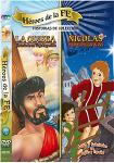 Nicolas / La Odisea DVD - 2 Title Video - Heroes de la Fe - Spanish & English