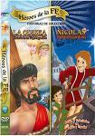 Nicolas / La Odisea DVD - 2 Title Video - Heroes de la Fe - Spanish & English