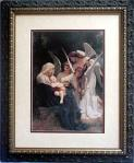 Song of the Angels Framed Print - 28 x 34 Inch - William Bouguereau