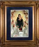 Queen of the Angels Framed Print - 24 x 32 Inch - William Bouguereau
