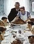 Freedom From Want Art Poster Print by Norman Rockwell