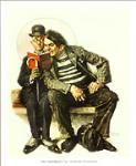 The Interloper Art Poster Print by Norman Rockwell